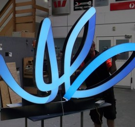 AMP Hero Sign Production