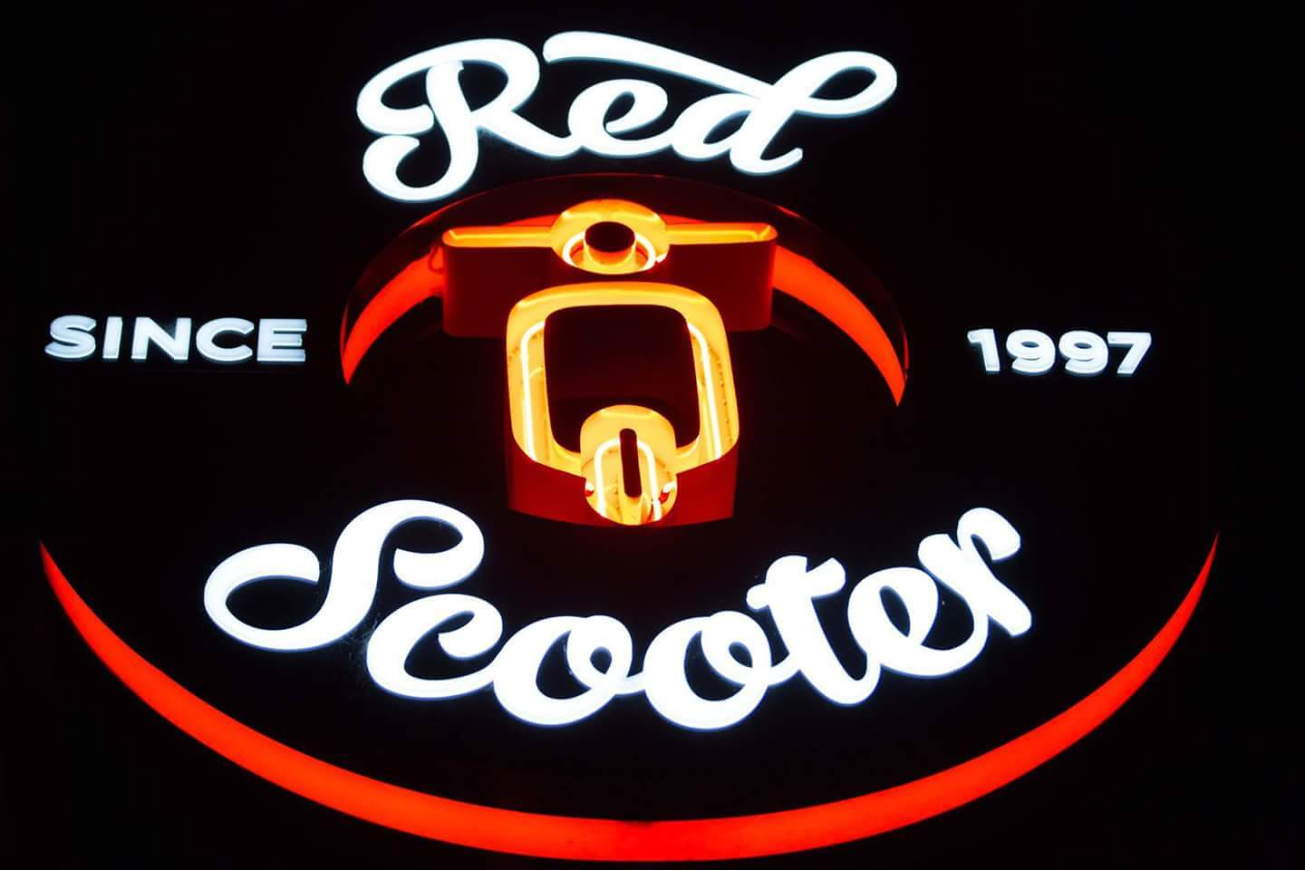Red Scooter signage