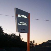 Stihl Pylon Sign